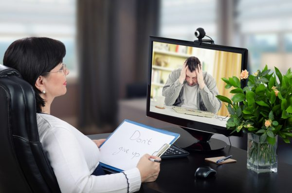 online marriage counselling - marriage therapy using internet e.g. face-to-face vs internet therapy